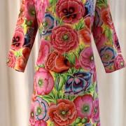 Solbritt klänning Tropik