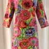 Solbritt klänning Tropik - XX Large