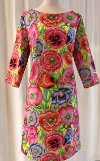 Solbritt klänning Tropik - Small