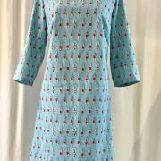 Solbritt klänning Konstsim