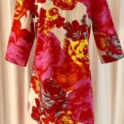 Solbritt klänning Rosen