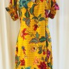 Anemona klänning Solgul - XX Large