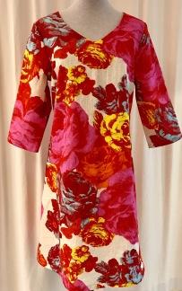 Solbritt klänning Rosen - Small