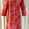 Solbritt klänning Rosa Medaljong - XX Large