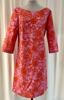 Solbritt klänning Rosa Medaljong - Small