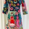 Solbritt klänning Frida Kahlo - XX Large