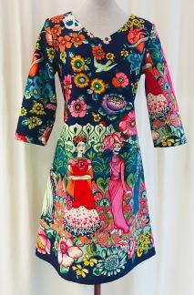 Solbritt klänning Frida Kahlo - Small