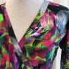 Viola omlottklänning Neonros