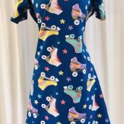 Dahlia Trikåklänning Rullskridskor