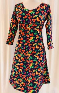 Dahlia klänning Tutti Frutti - Small