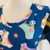 Dahlia Trikåklänning Rullskridskor - XX Large