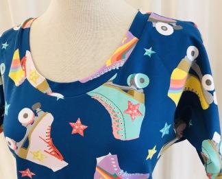 Dahlia Trikåklänning Rullskridskor - Small