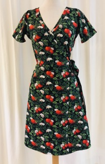 Viola Omlottklänning Äppelblom - Small
