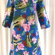 Solbritt klänning Tropisk Krokodil