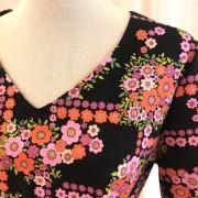 Solbritt klänning Retro Labyrint