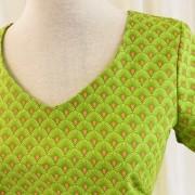 Solbritt klänning Sommar Lime