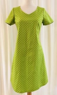 Solbritt klänning Sommar Lime - Small
