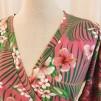Viola klänning Rosa Tropik
