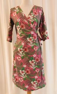 Viola klänning Rosa Tropik - Small