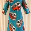 Solbritt klänning Retro VW Buss - XX Large