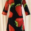 Solbritt klänning Jordgubbe - XX large