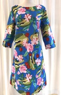 Solbritt klänning Tropisk Krokodil - Small