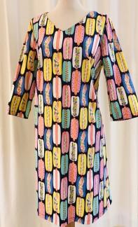 Solbritt klänning Korv med bröd - Small