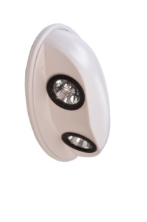 Ytterlampa Twin LED