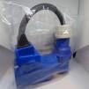 CEE-Kontakt - CEE- Kontakt 230 volt hona vinklad med stick uttag i ryggen + Hane CEE kontakt