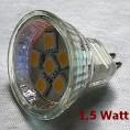 LED LAMPA MR 11 LED SMD 1,5 W
