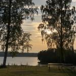...en fantastisk solnedgång! Godnatt...