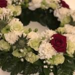 Blomsterkrans/urnkrans