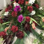Säsongens blommor med julkänska