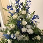 Klassisk & luftigt i vitt/blått