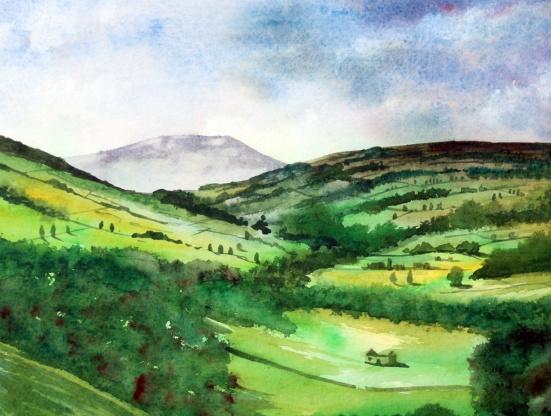 Akvarell: Philip Nicholson