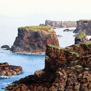 Eschaness. Akvarell, Philip Nicholson