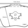 Belägg Golf VI (5K1) - Belägg Fram 2.0 R 4motion