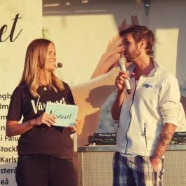 Marie Serneholt i intervju om Isak Thern och Barncancerfonden