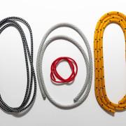 Halyard ropes for mast & boom SET - 4 pcs