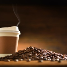 Coffee-cup-and-coffee-beans