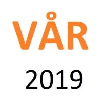 Vår 2019 | Vecka 16 | 13-20. april