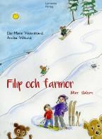Filip och farmor åker slalom