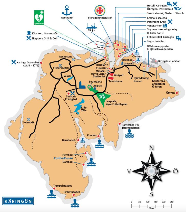 käringön karta Karta | Destination Käringön käringön karta