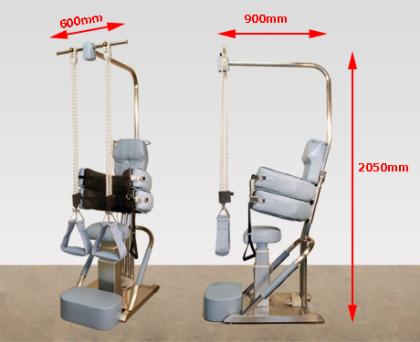 PROTEC -stolen tar liten plats och är lätt att hantera