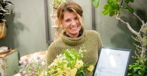 Jeanette Söderlund, kreatör och trädgårdsmästarstudent på Skillebyholm!