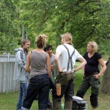 Studenterna varvar teori med praktik på Skillebyholm