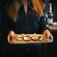 Närbild på ostronen