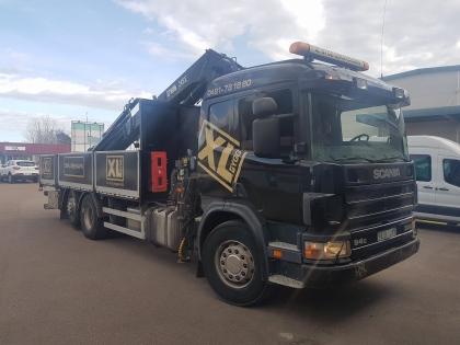 Helfoliering av lastbil