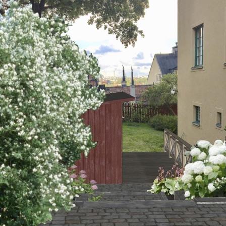 Förslag sett från Stigbergsgatan
