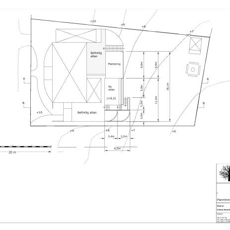 Bygglovsritning planskiss
